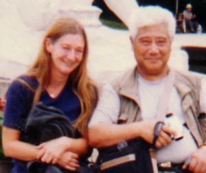 Heidi Elseven und Ma Jiangbao in China